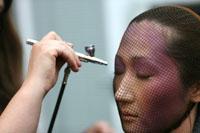 Make up demonstration.